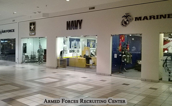 Armed Forces Recruiting Center Commercial Remodel and Renovation