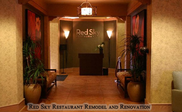 Red Sky Restaurant Commercial Remodel and Renovation